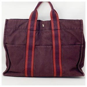 Authentic Harmes Canvas Tote Bag